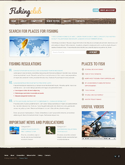 Website Template #37104