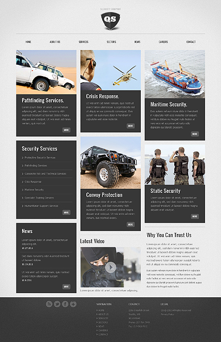 Website Template #37156