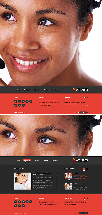 Website Template #37169