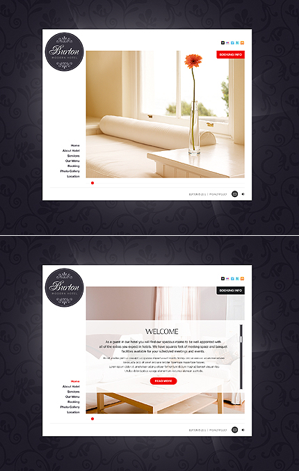 Website Template #37180