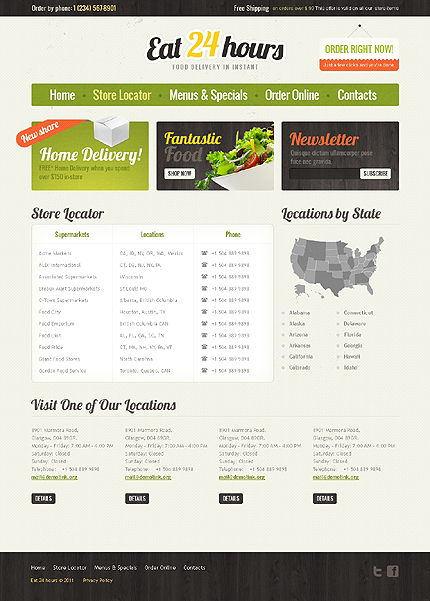 Website Template #37187