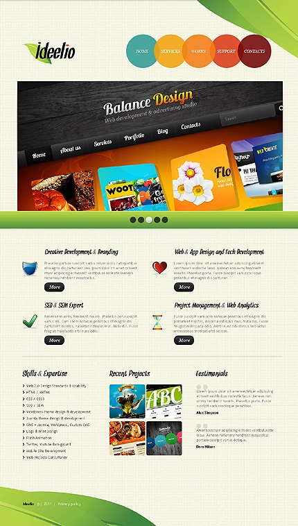 Website Template #37192