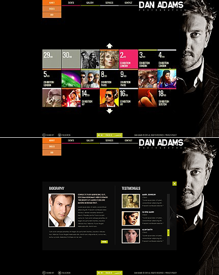 Website Template #37204