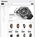 Stretched Flash Ecommerce CMS Theme #37219