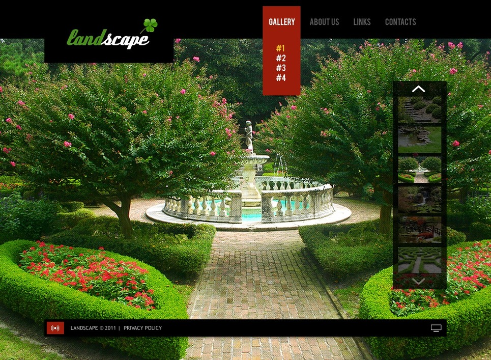 Landscape design flash template 37238 for Garden design questions
