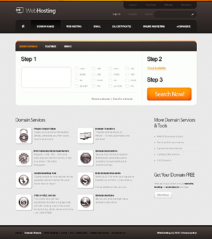 Website Template #37252