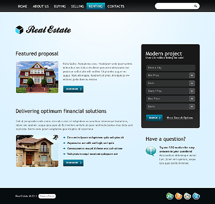 Website Template #37264