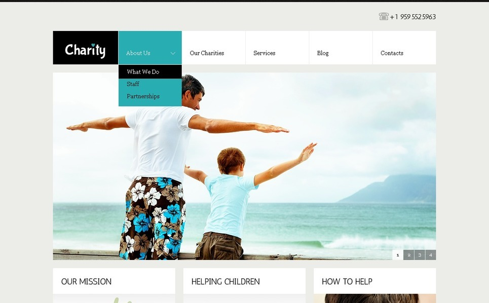 Child Charity WordPress Theme New Screenshots BIG