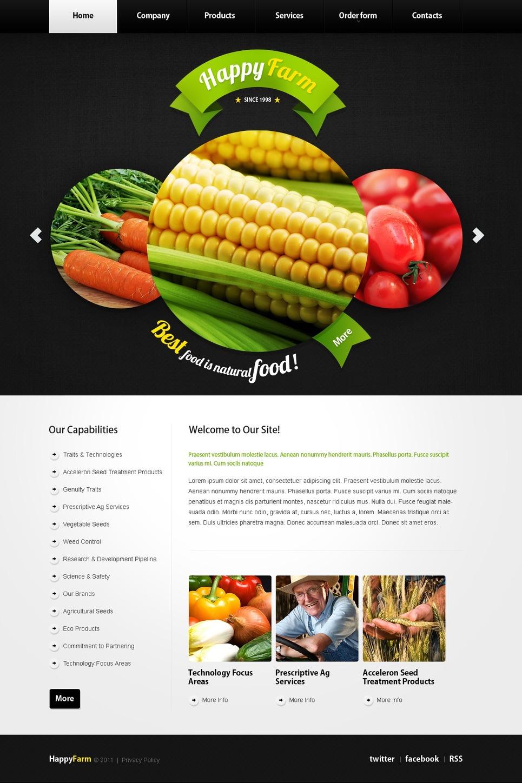 Farm Facebook Flash Template New Screenshots BIG