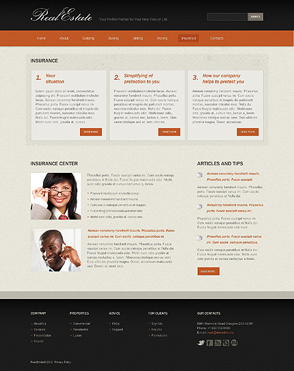 Website Template #37328