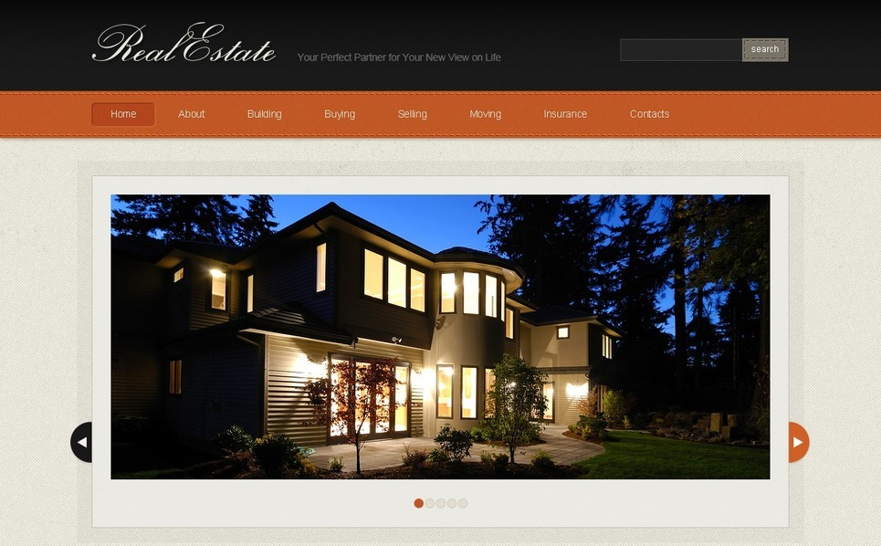 Real Estate Agency Website Template New Screenshots BIG