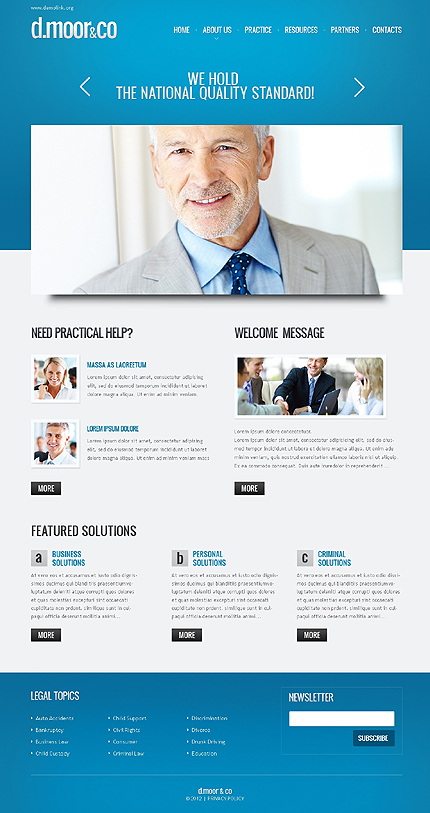 Website Template #37335