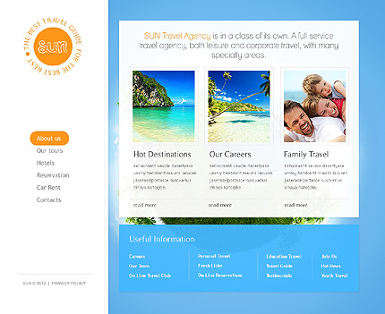 Website Template #37351