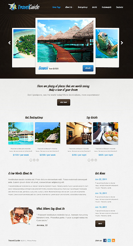 Website Template #37355