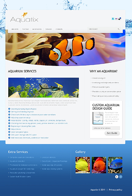 Website Template #37388