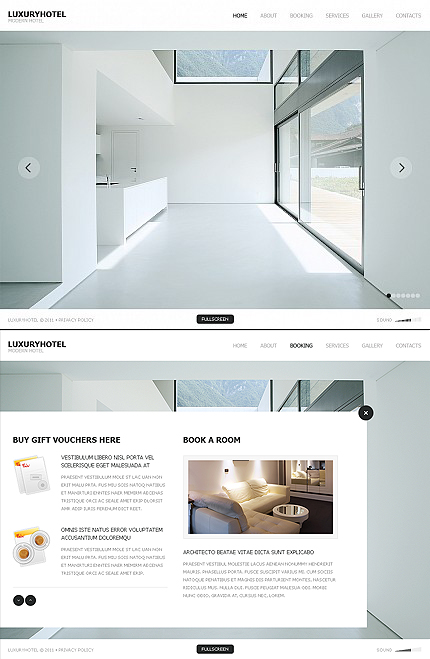 Website Template #37393