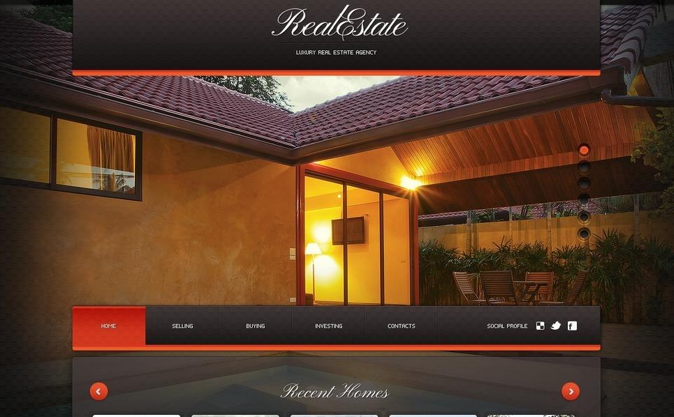 Plantilla flash cms 37423 para sitio de agencia inmobiliaria for Agencia inmobiliaria