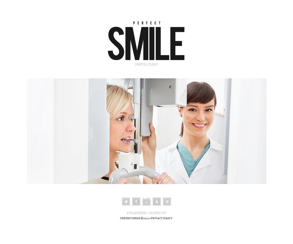 Dentistry Flash CMS Template New Screenshots BIG