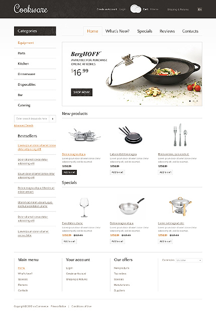 Website Template #37484
