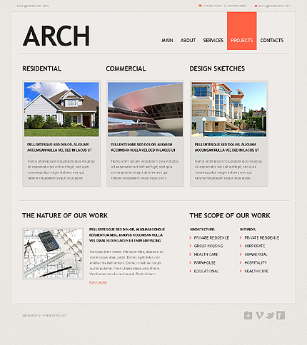 Website Template #37535