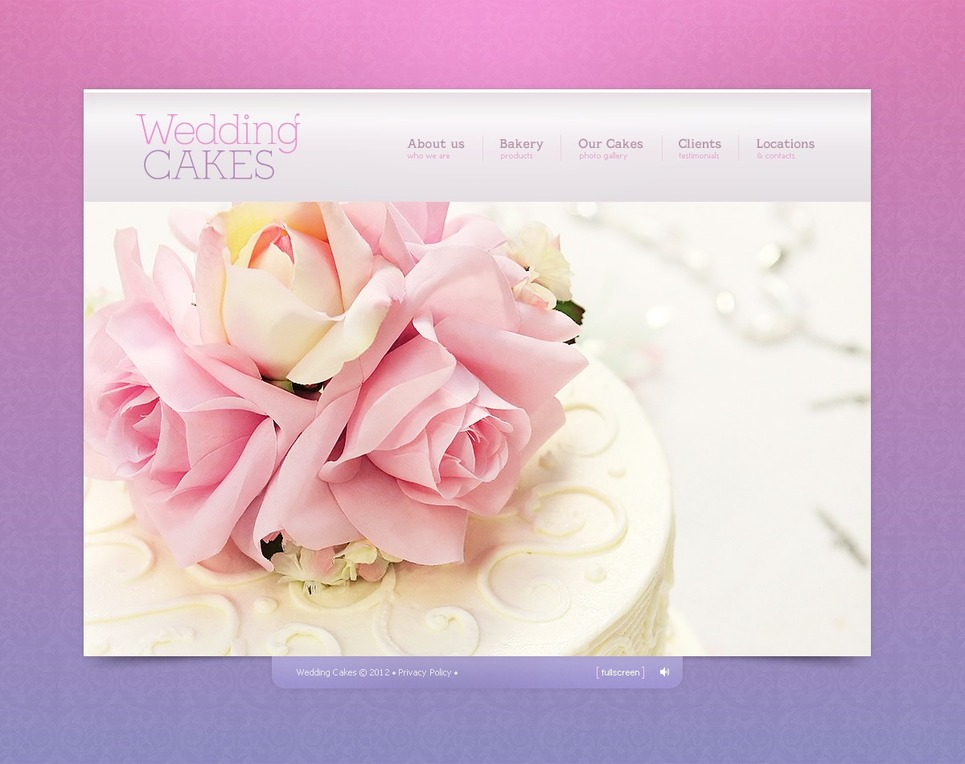 Wedding Cake Flash Template New Screenshots BIG