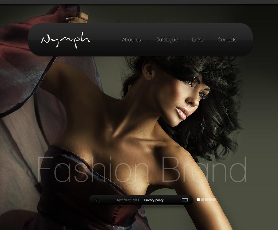Fashion Facebook Flash Template New Screenshots BIG