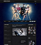 Stretched Flash CMS Theme #37742