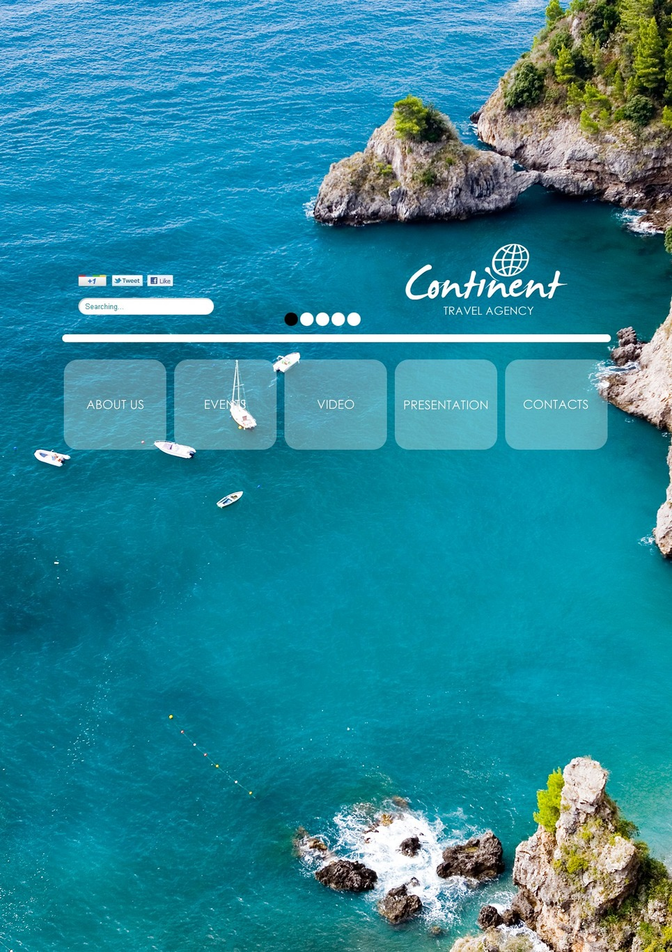 Travel Agency Flash CMS Template New Screenshots BIG