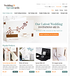 Wedding & Special Cards Online - PrestaShop Theme #37789 by Hermes