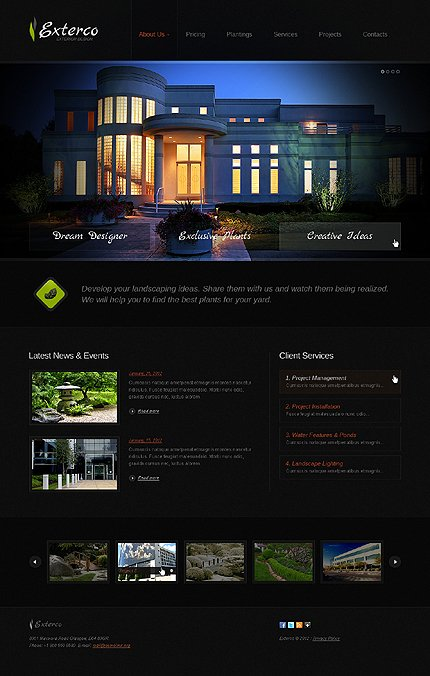 Website Template #37801