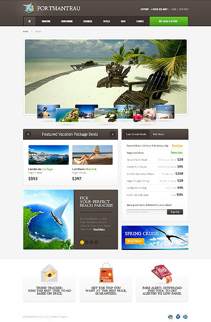 Website Template #37812