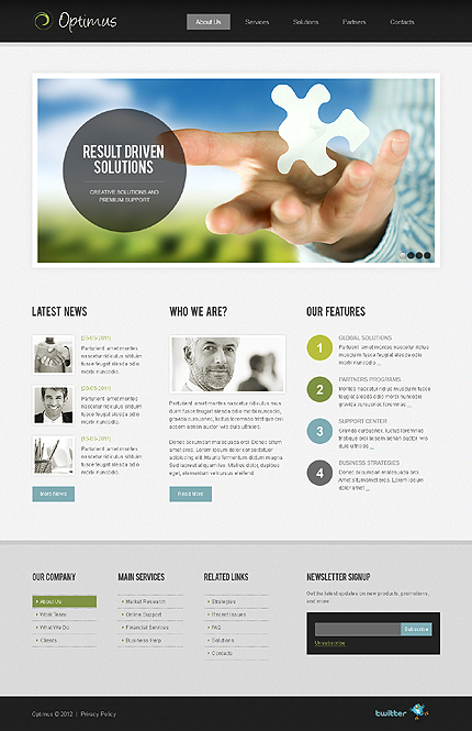 Website Template #37818