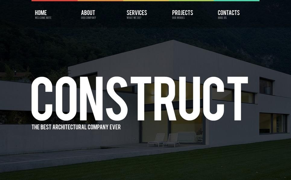 Construction Company Flash Template New Screenshots BIG