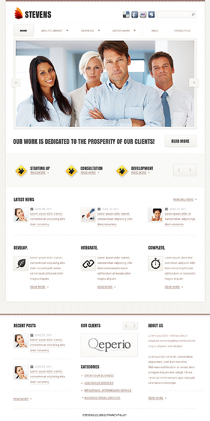 Website Template #37887