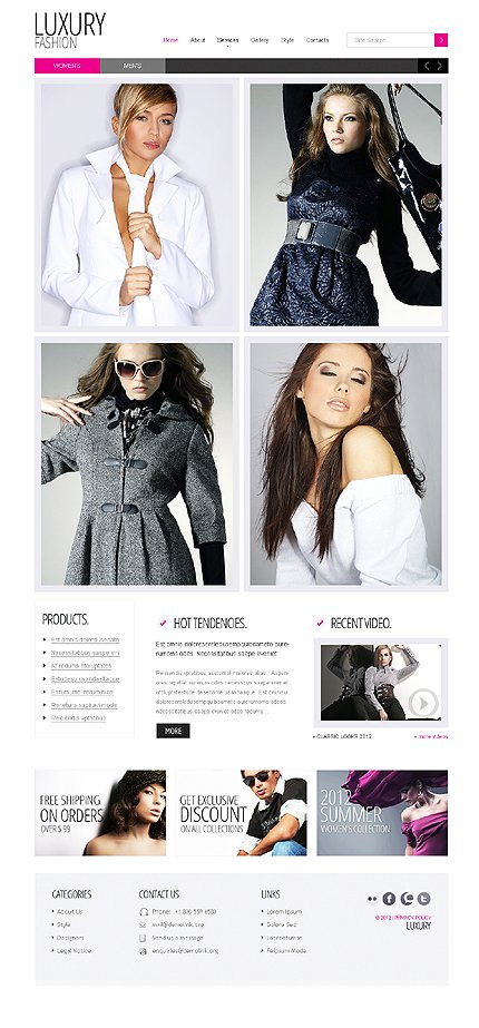 Website Template #37925
