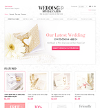 Wedding Invitations - PrestaShop Theme #37935 by Hermes