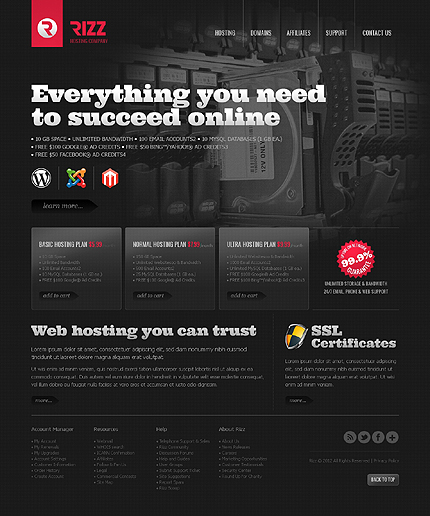 Website Template #37955