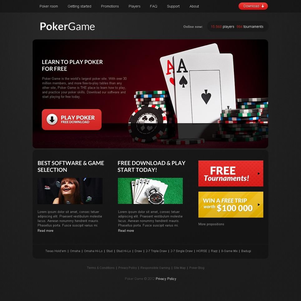 Sublime poker