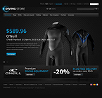 Diving from Top to Toe - PrestaShop Theme #37983 by Hermes
