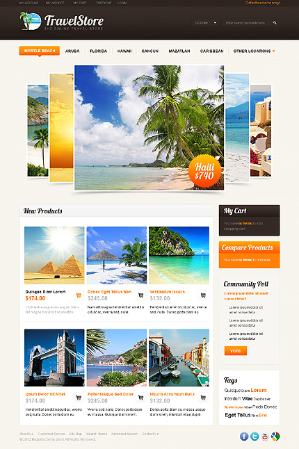 Website Template #38013