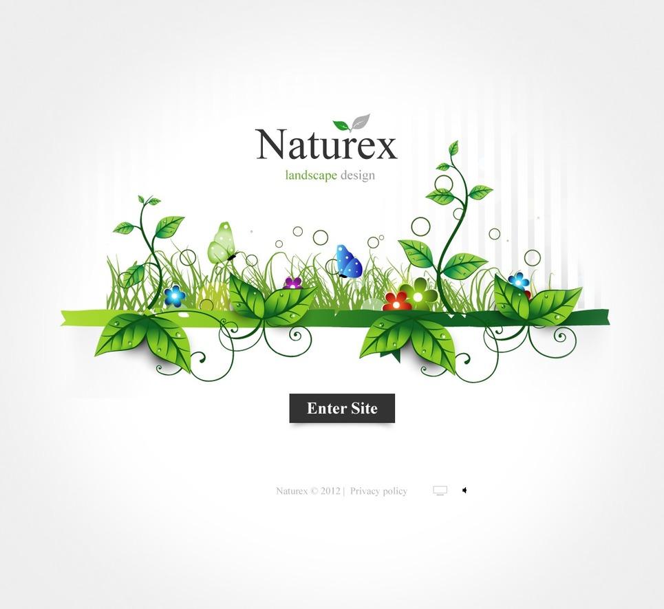 Landscape design flash template 38042 for Garden design questions