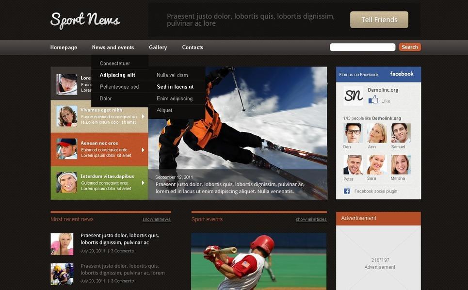 News Portal WordPress Theme New Screenshots BIG