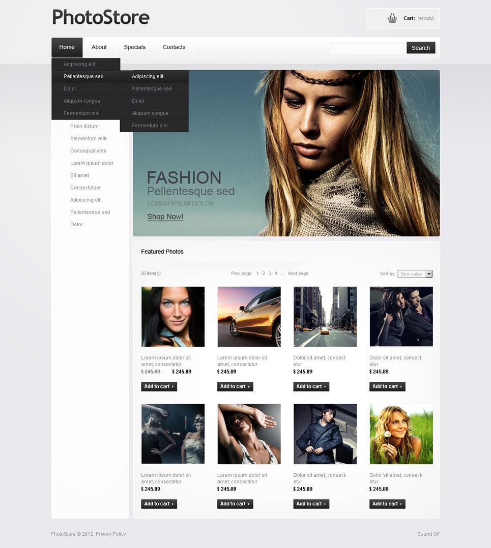 Photo Gallery Photo Gallery Template New Screenshots BIG