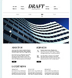 Website template #38088 by Di