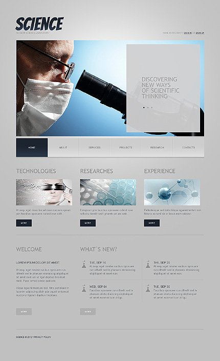 Website Template #38115