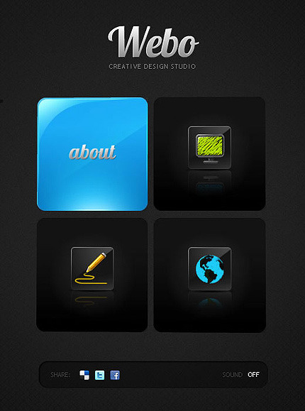 Design Studio Facebook Flash Template Facebook Screenshot