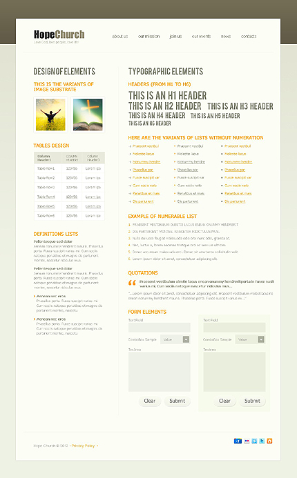 Website Template #38125