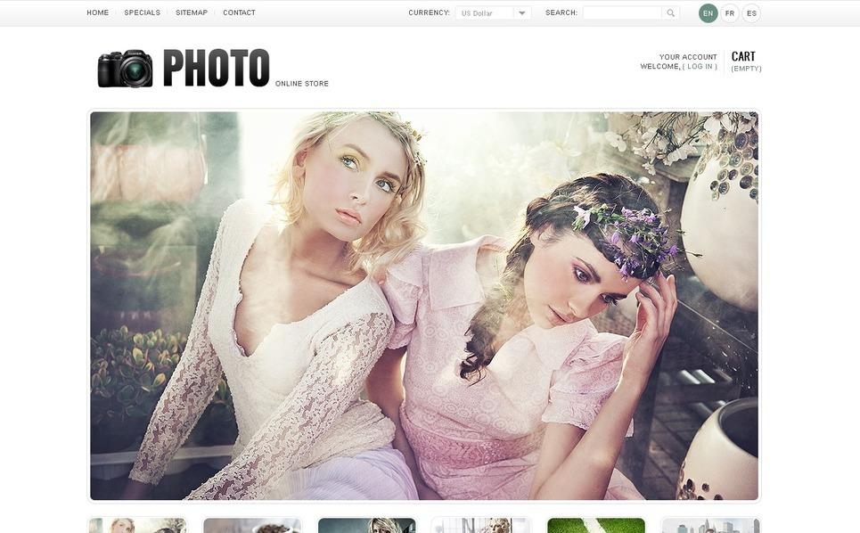 Art & Photo Gallery PrestaShop Theme New Screenshots BIG