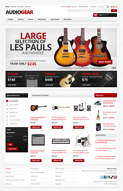 how to start an online music store