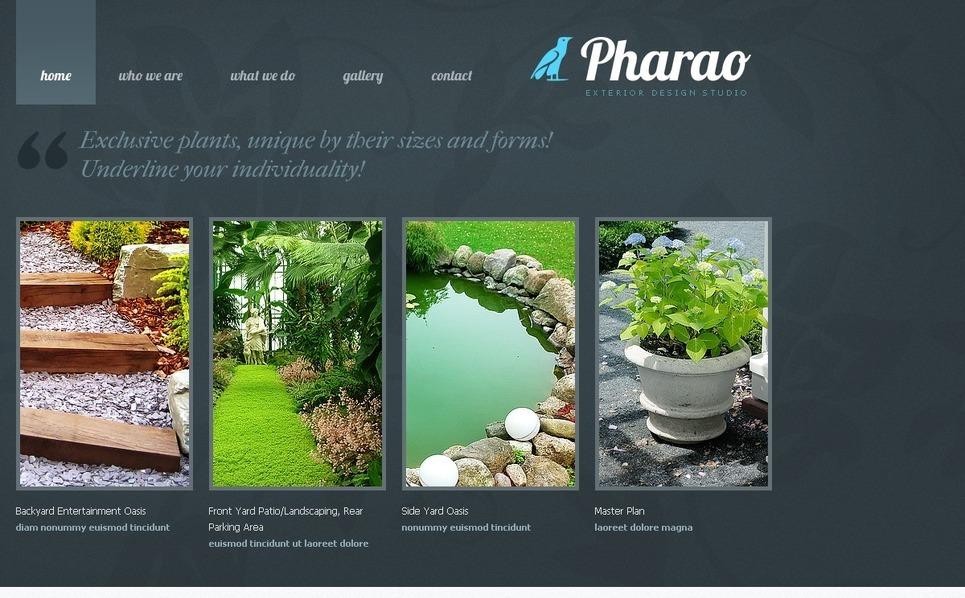 Exterior Design Website Template New Screenshots BIG